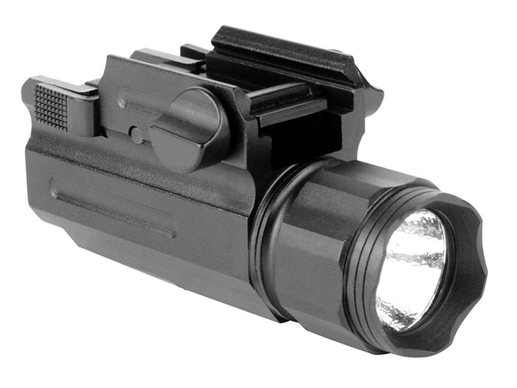 330 Lumen Anodized Weapon Light W/ Qrm Color Lens Filter