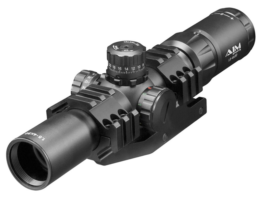 1.5-4x30 CQB Tri-illunimation Fog Proof Scope