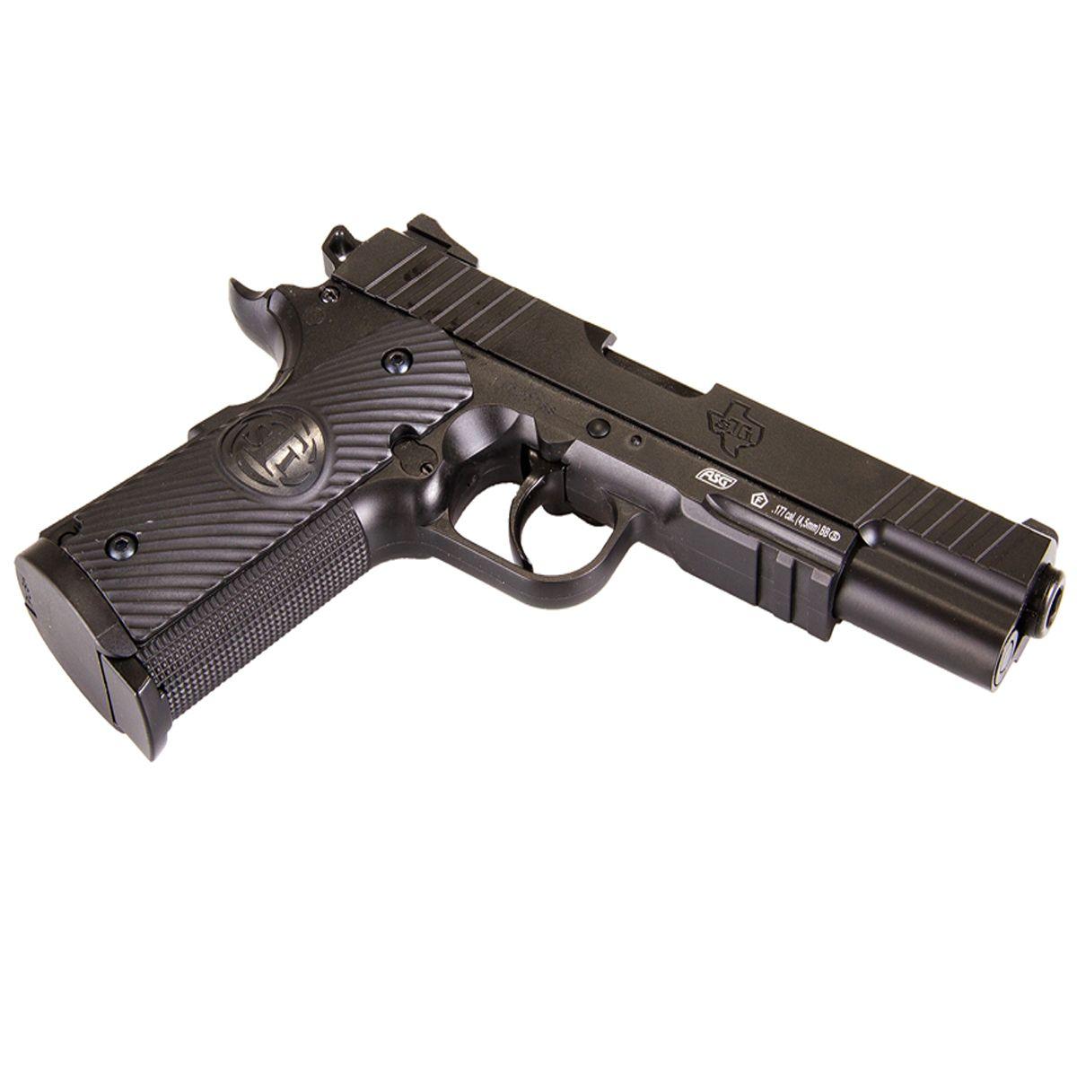 Asg 16724 airsoft pistol gbb co2 sti duty one replicaairguns ca