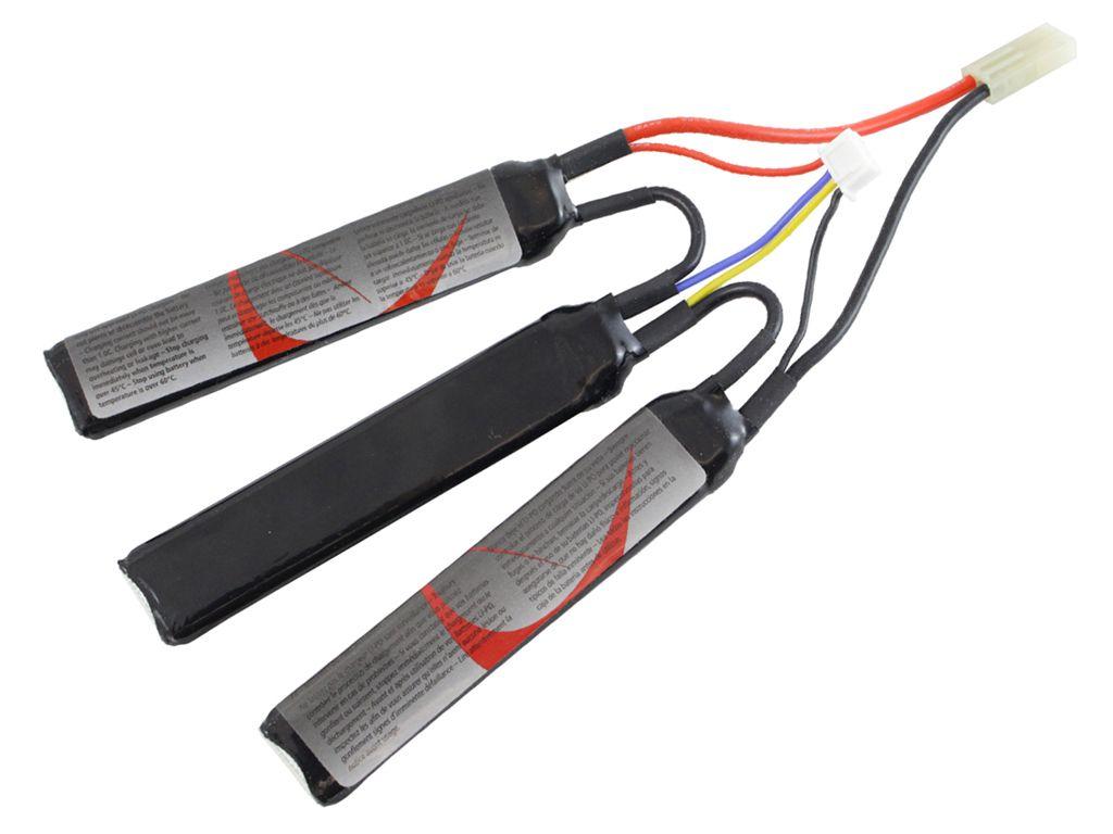 11.1V 1300mAh LiPO Split Cell AEG Battery