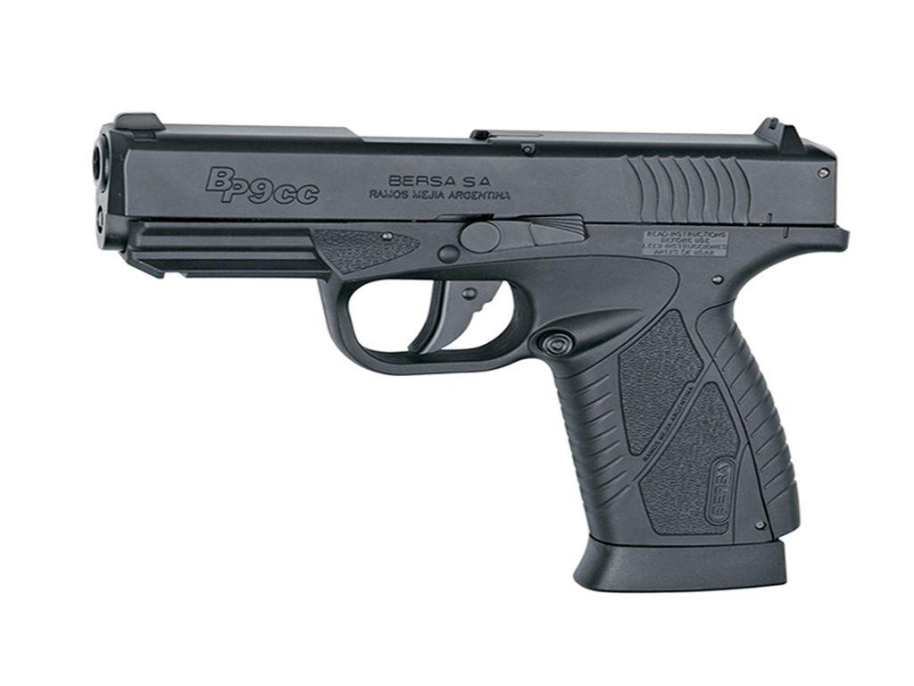 ASG Bersa BP9CC CO2 NBB Steel BB Pistol