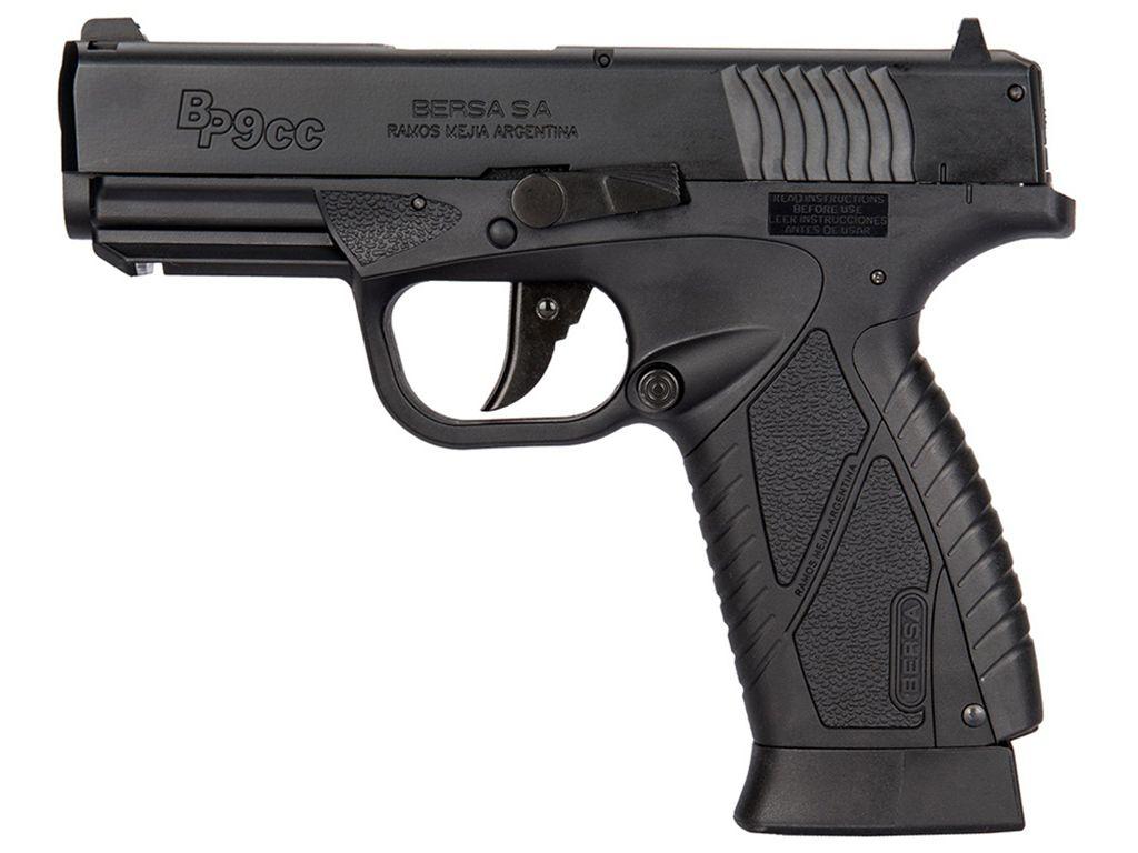 ASG Bersa BP9CC CO2 Blowback Steel BB Pistol