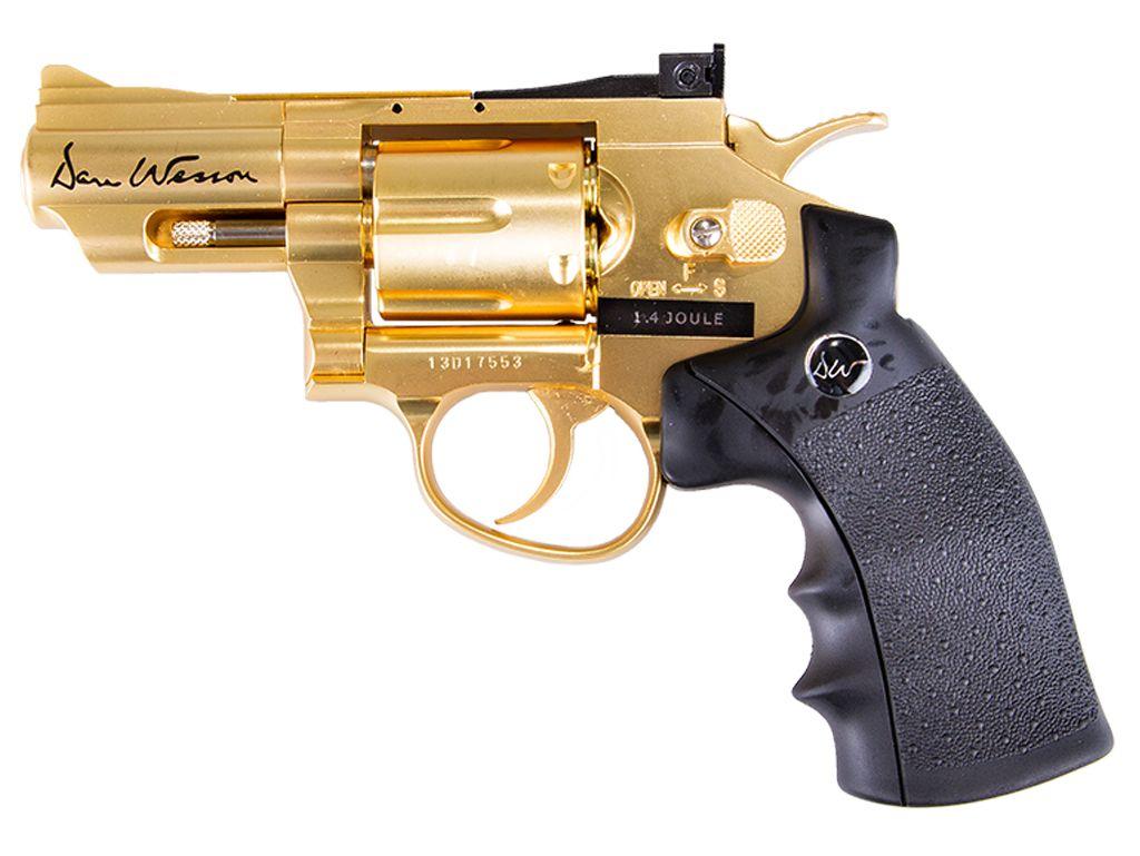 Dan Wesson 2.5 Inch CO2 NBB Airsoft Revolver