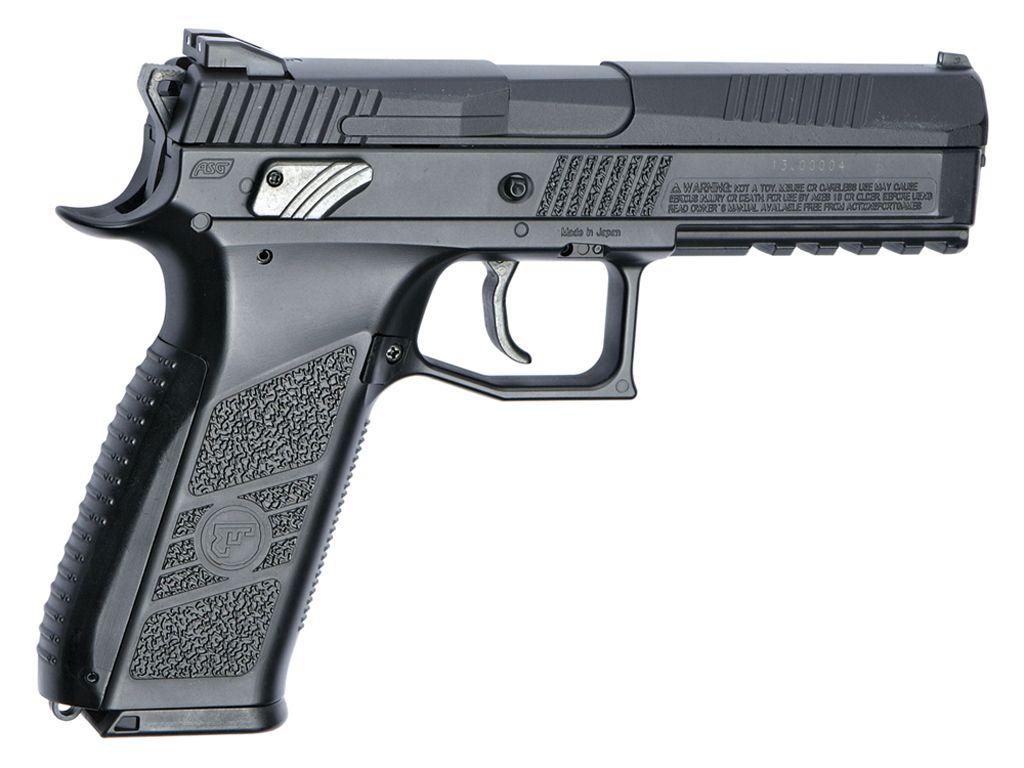 Cheap cz 75 p 09 duty blow back black pellet pistol replicaairguns ca