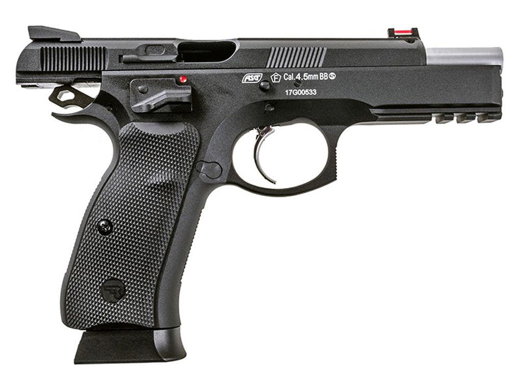 ASG CZ 75 SP-01 Shadow CO2 Blowback Steel BB Pistol