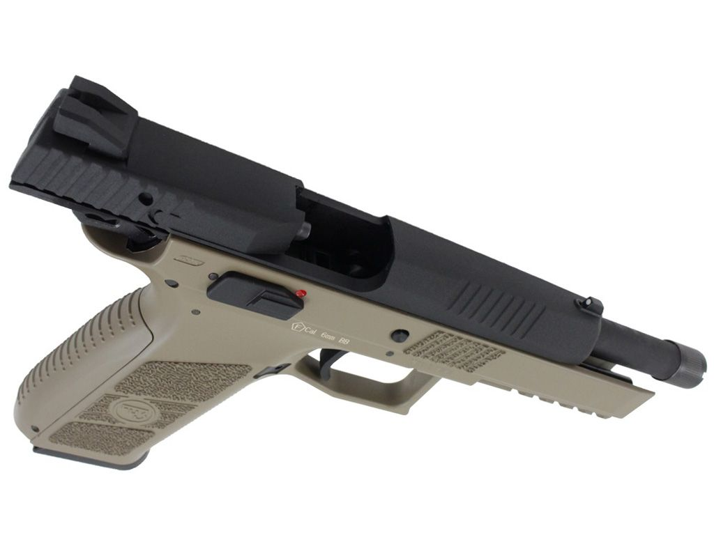 ASG CZ P-09 Threaded Barrel GBB Airsoft Gun