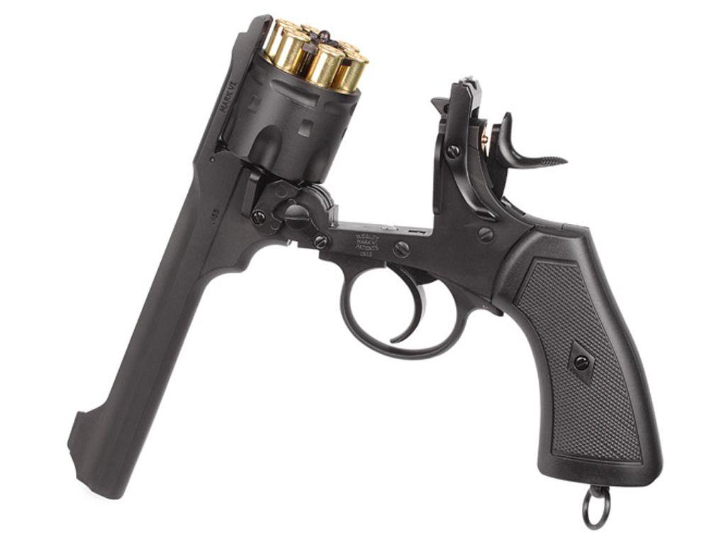 Webley and Scott MKVI CO2 Steel BB Revolver