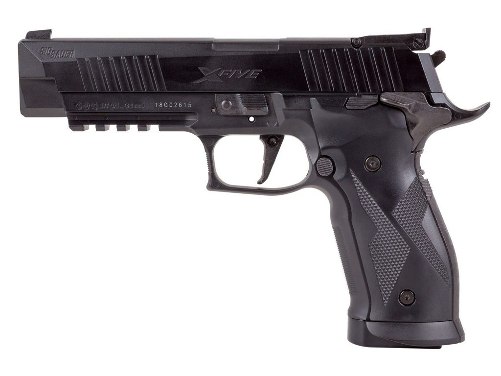 Sig Sauer X-Five ASP Blowback Steel BB/Pellet Gun