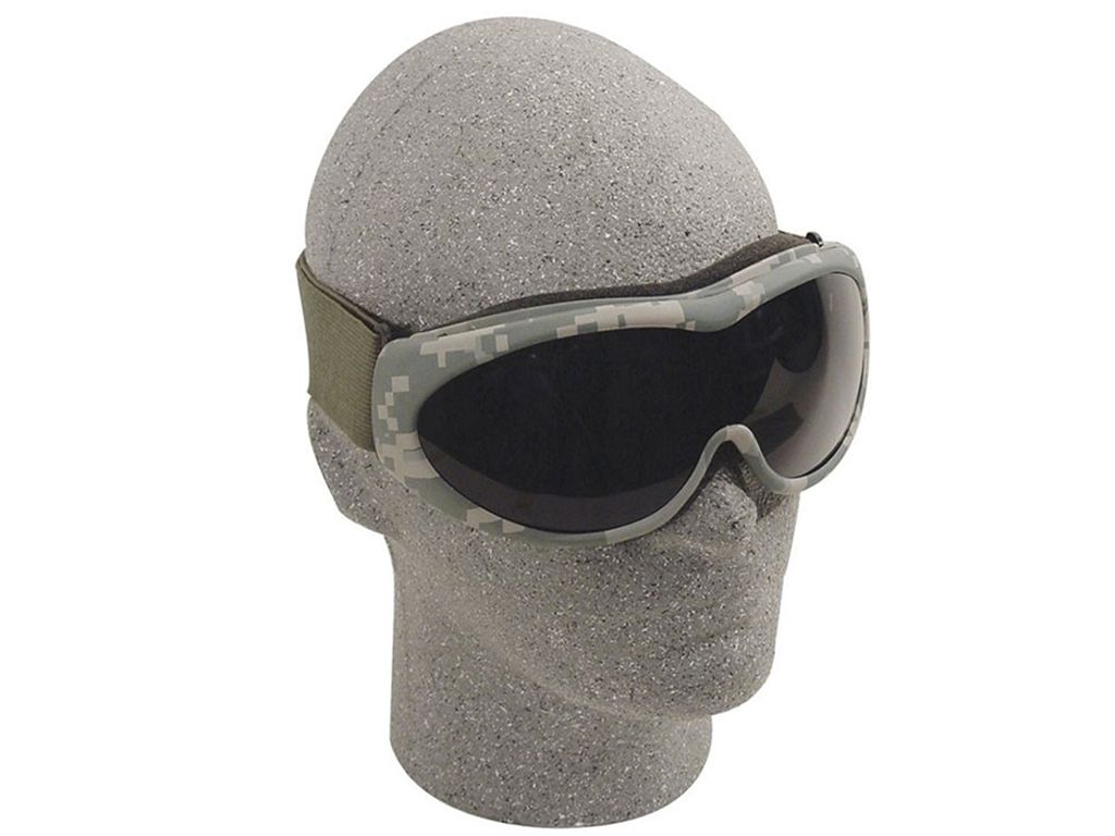 ACU The Grunt Tactical Goggles With Smoke Lenses