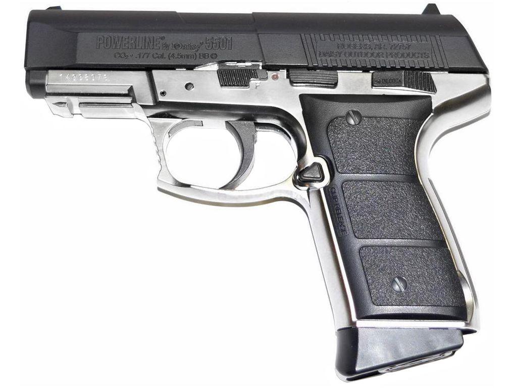 Daisy Powerline 5501 Co2 Blowback Steel BB Pistol