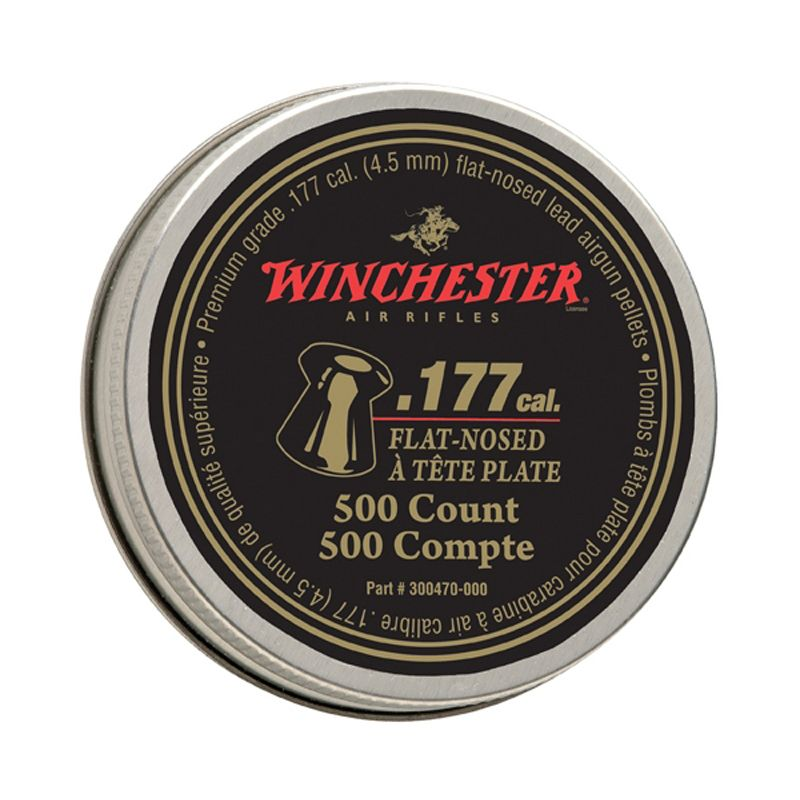 Daisy Winchester Flat-Nosed .177 Pellets 500-Pack