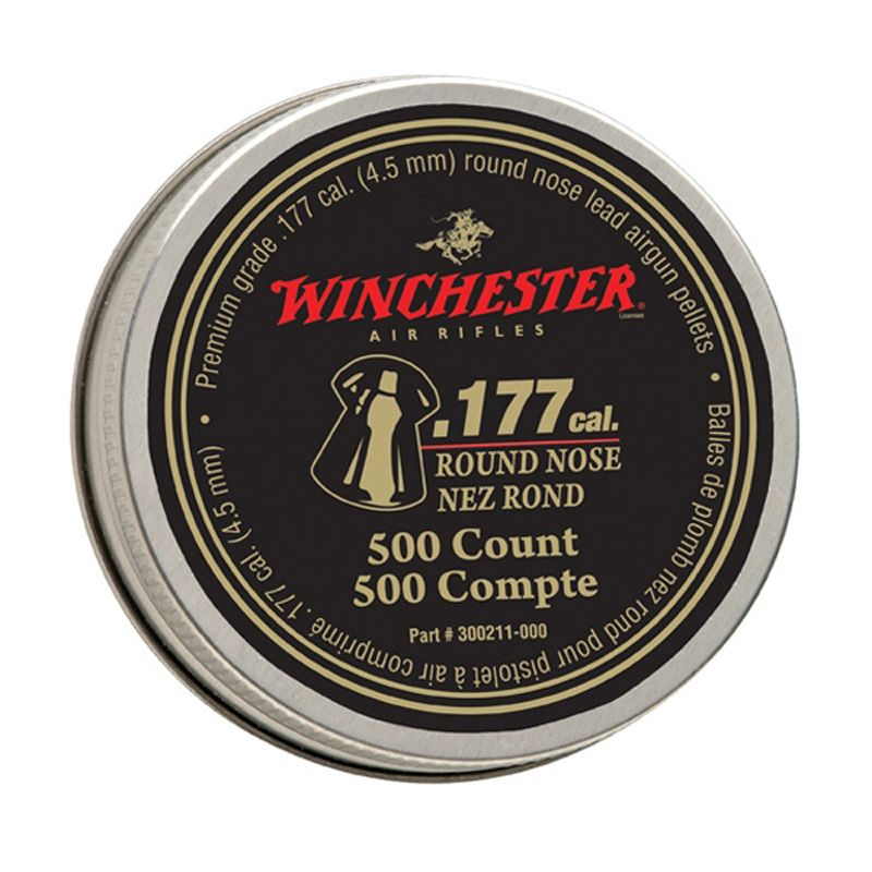 Daisy Winchester .177 Cal Round Nose Pellets 500-Pack