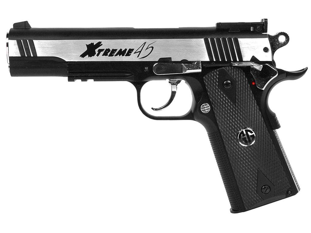 G&G Xtreme 45 Full Metal Blowback Airsoft Pistol