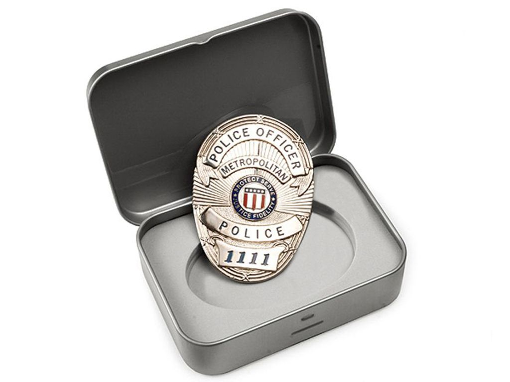 G&G Metro Police Badge With Gift Box