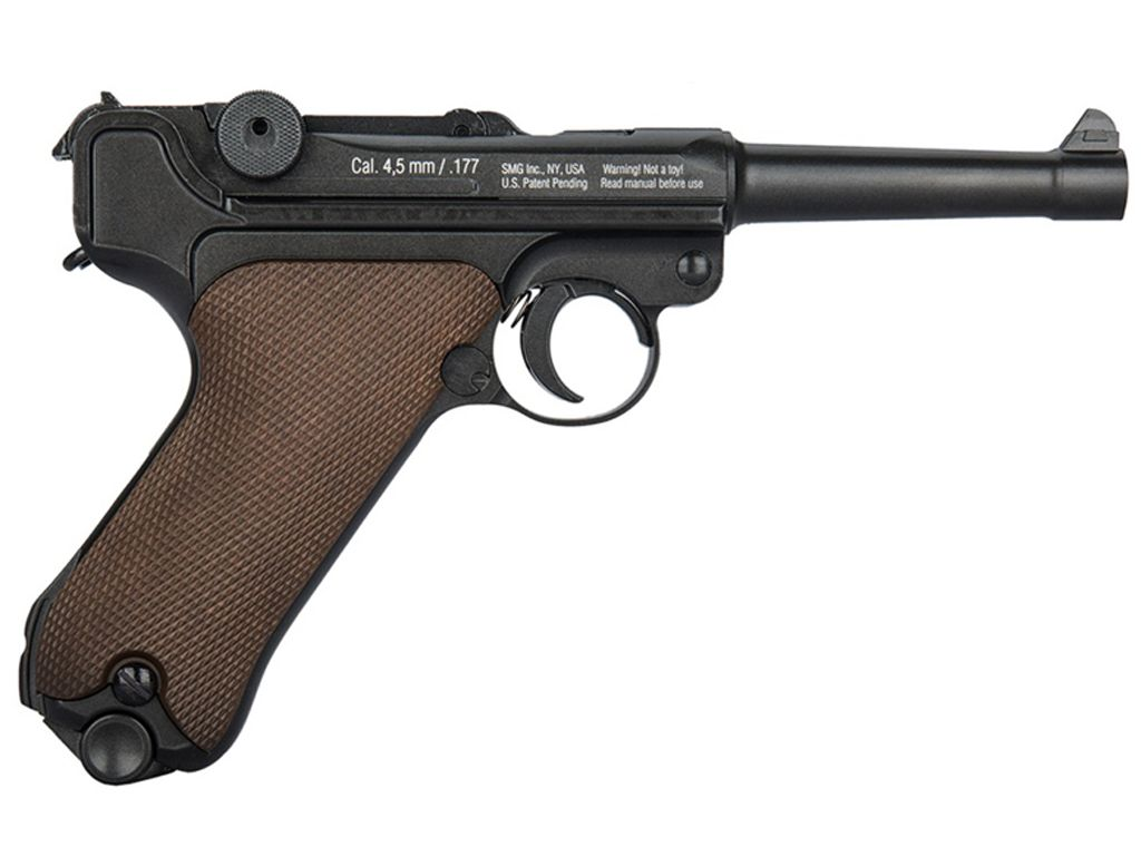 buy gletcher p08 steel bb .177 caliber co2 pistol |replicaairguns.ca