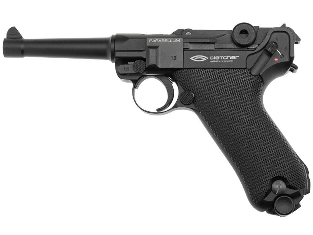 Gletcher Parabellum CO2 Blowback Steel BB Pistol