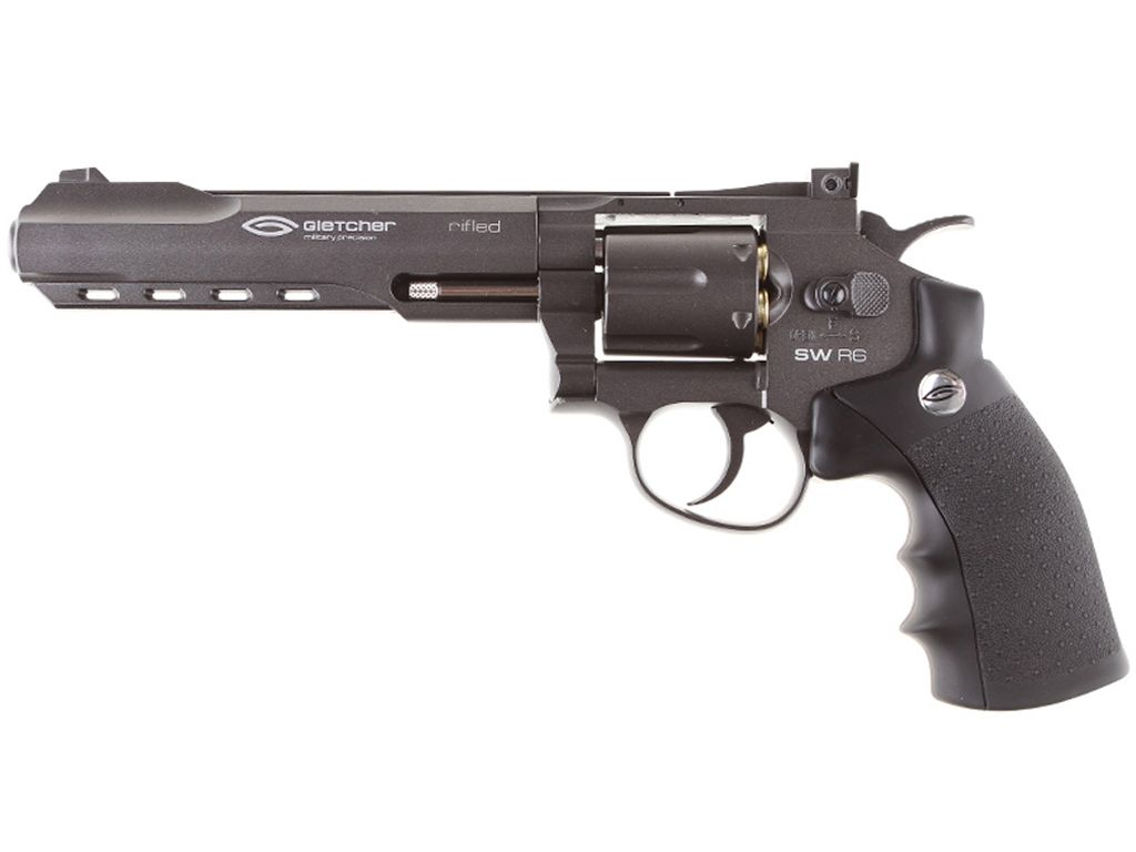 Gletcher Full Metal CO2 Pellet Revolver