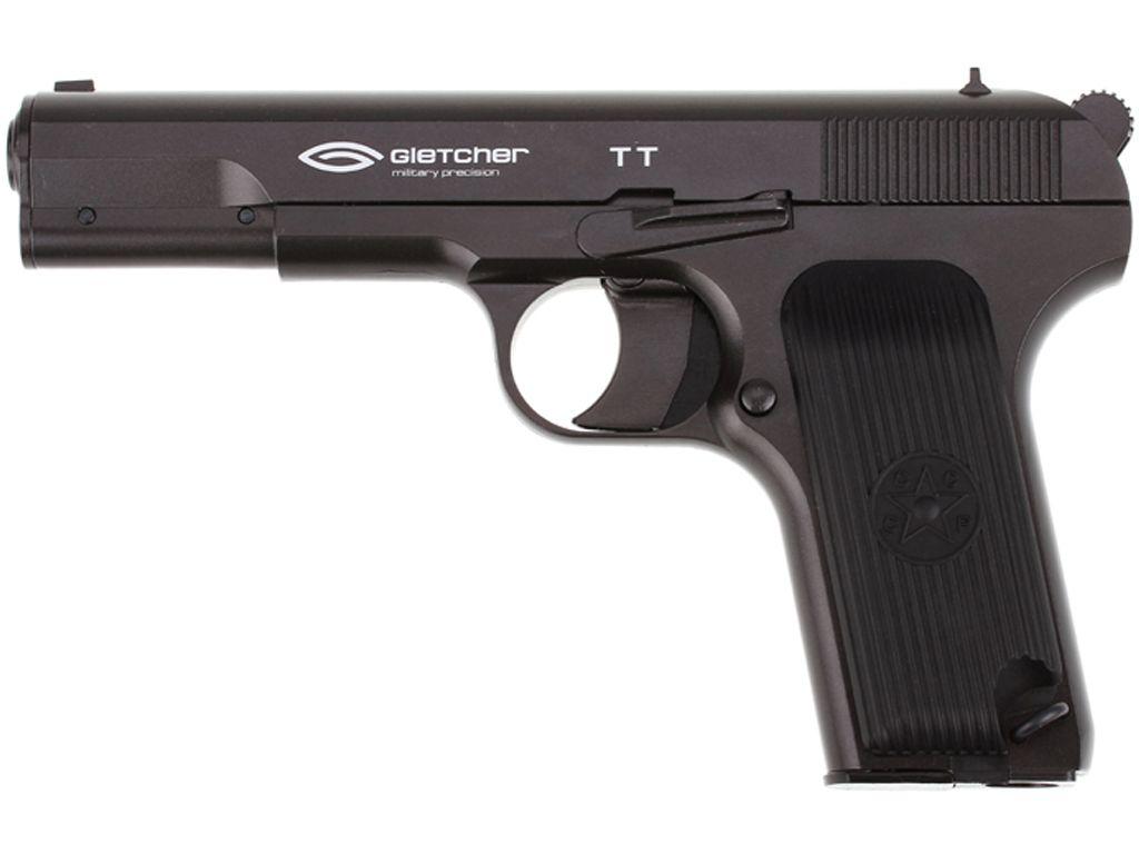 Gletcher TT  CO2 Blowback Steel BB Pistol
