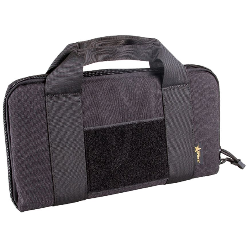 14 Inch Tactical Black Rectangle Padded Carry Case Bag Pouch