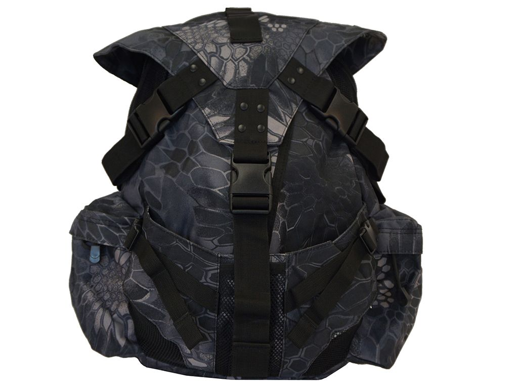 Military Style Typhon Camo Backpack