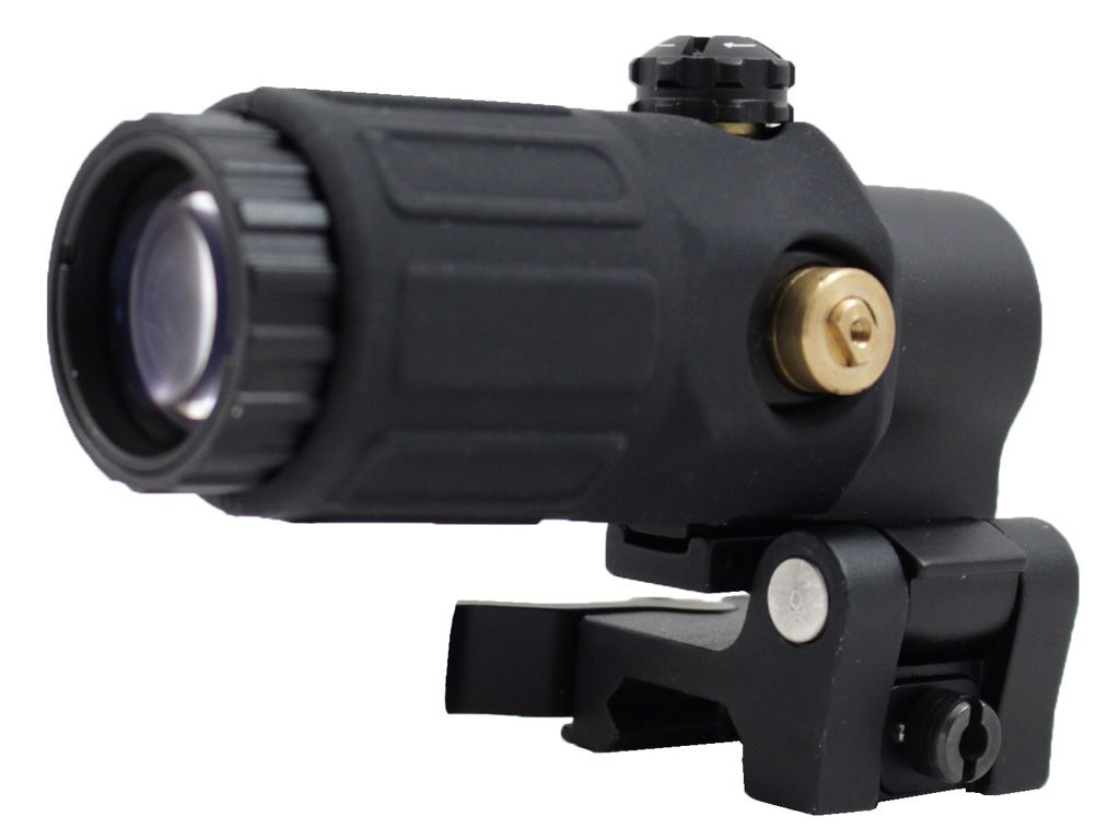 3x Magnifier with Switch to Side Mount