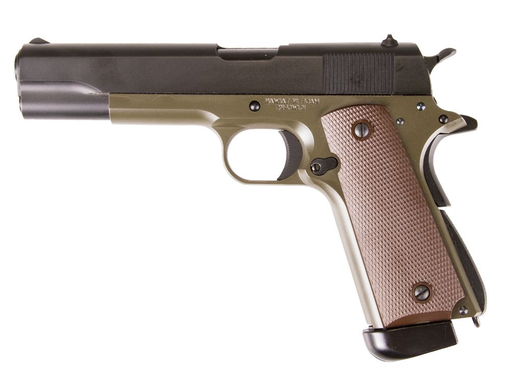 KJ Works M1911 CO2 Blowback Airsoft Pistol