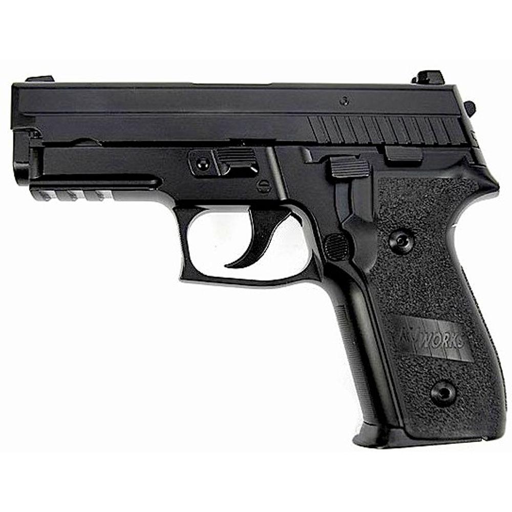 KJ Works P229 KP-02 Full Metal CO2 Blow Back Airsoft Pistol