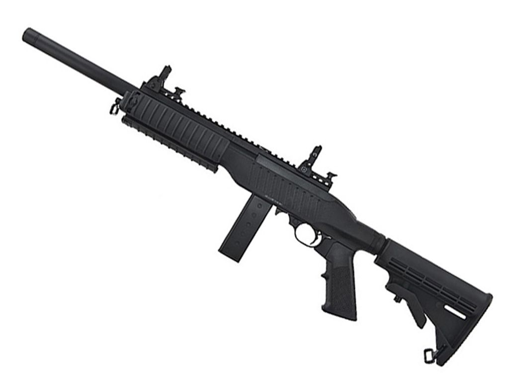 KJ Works Carbine KC-02 Blowback Airsoft Rifle