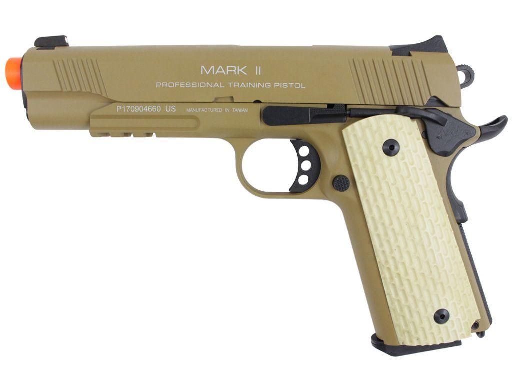 KWA 1911 MK II PTP GBB Airsoft Pistol