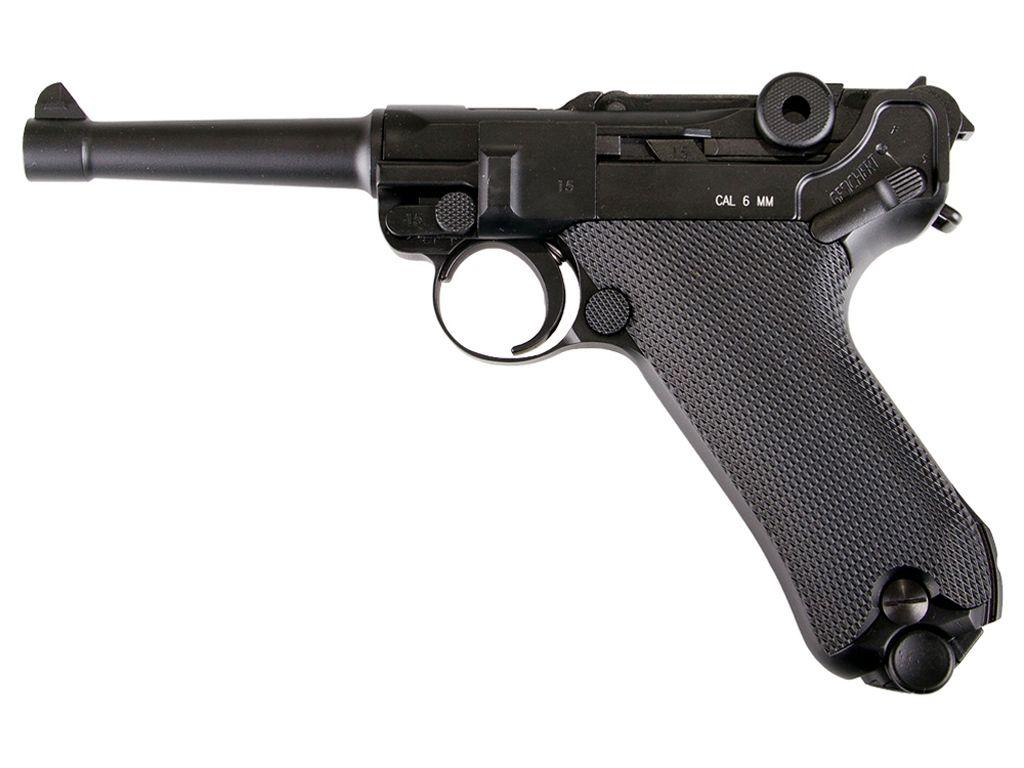 KWC Luger P08 C02 Blowback Airsoft Gun