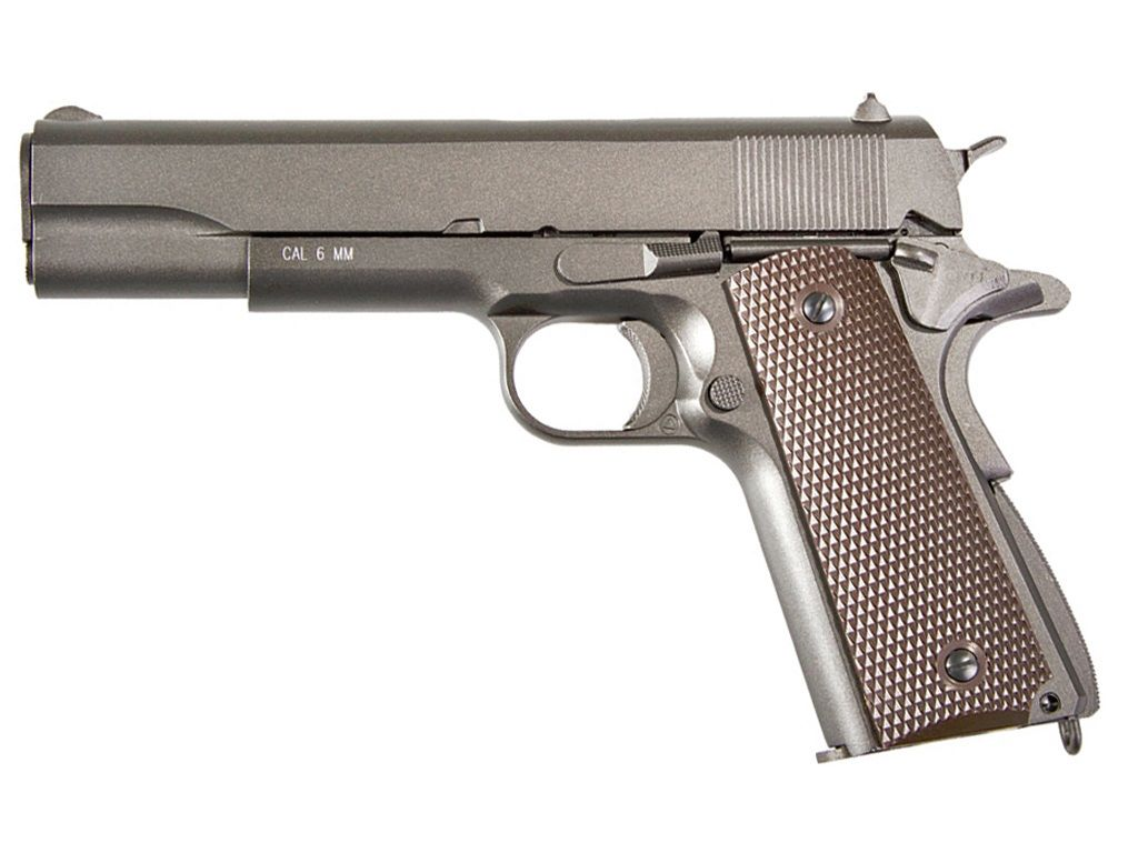 buy cheap kwc kcb76ahn m1911 full metal co2 gas blow back airsoft pistol|replicaairguns.ca
