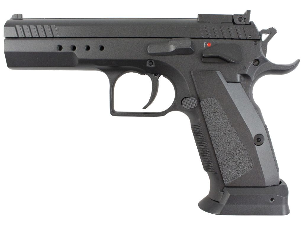 KWC Model 75 TAC C02 Blowback Airsoft Pistol