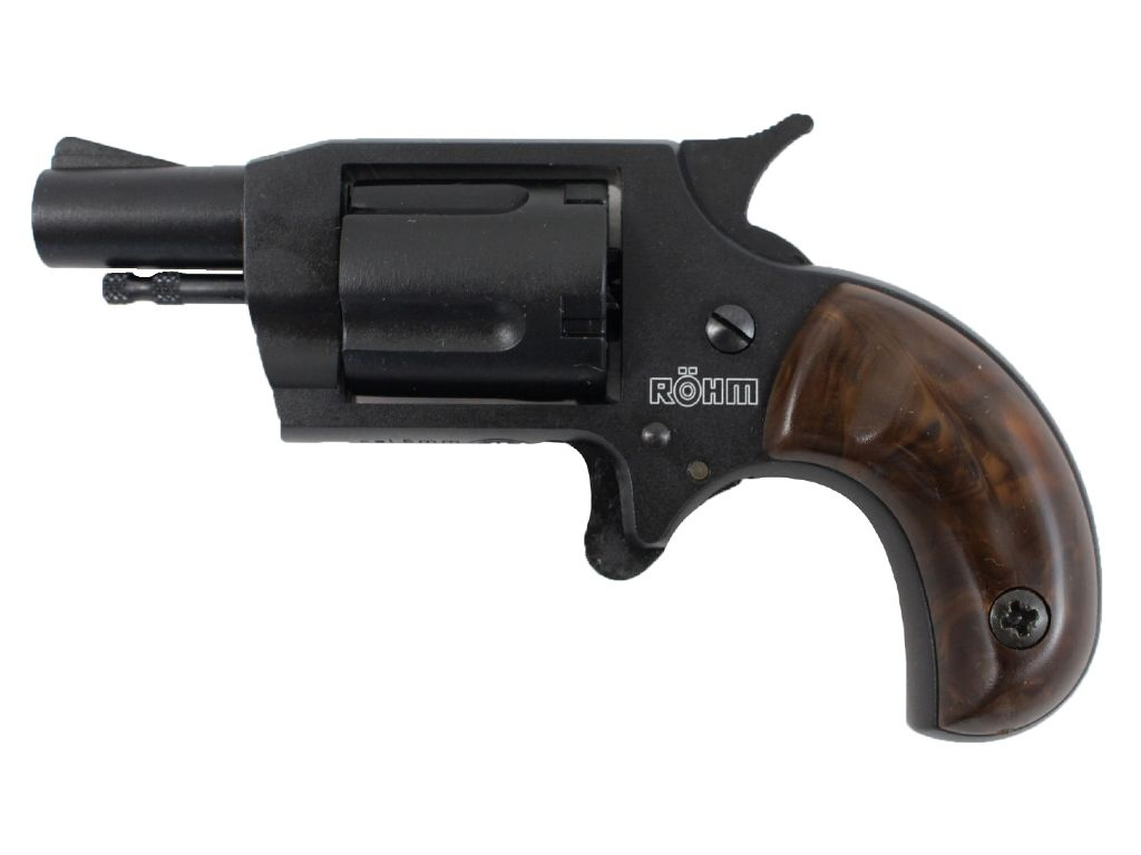 Rohm Little Joe Blank Revolver Black Finish