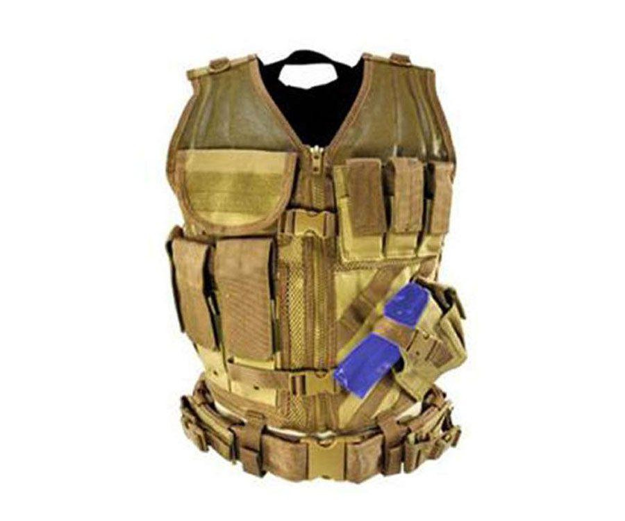 Ncstar Tan Tactical Vest
