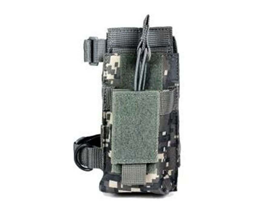 Ncstar Digital Camo AR Single Magazine Pouch With Stock Adapter