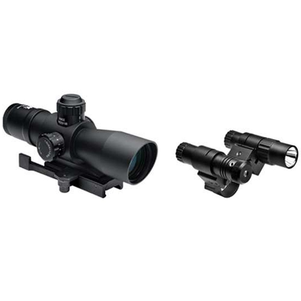 Ncstar Total Targeting System 3-9X42 Scope Green Laser Flashlight