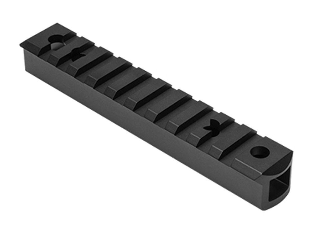 NcStar 10/22 Receiver Picatinny Tall Rail - Black