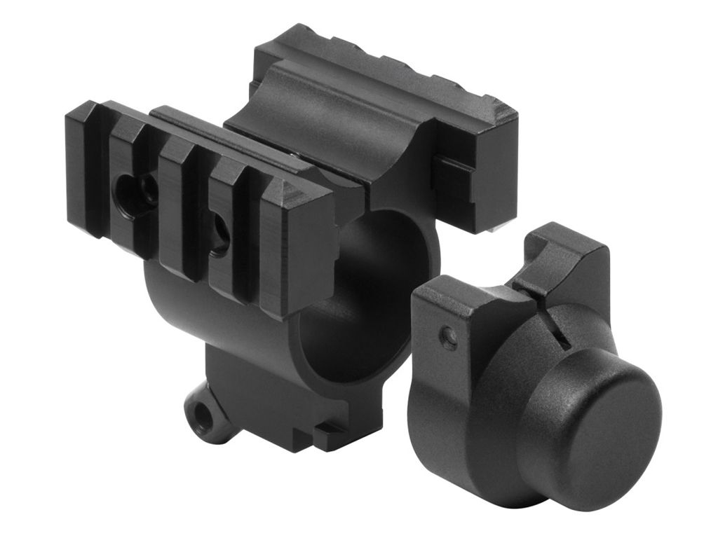 Shotgun Rail and Bayonet Mount for Mossberg 500