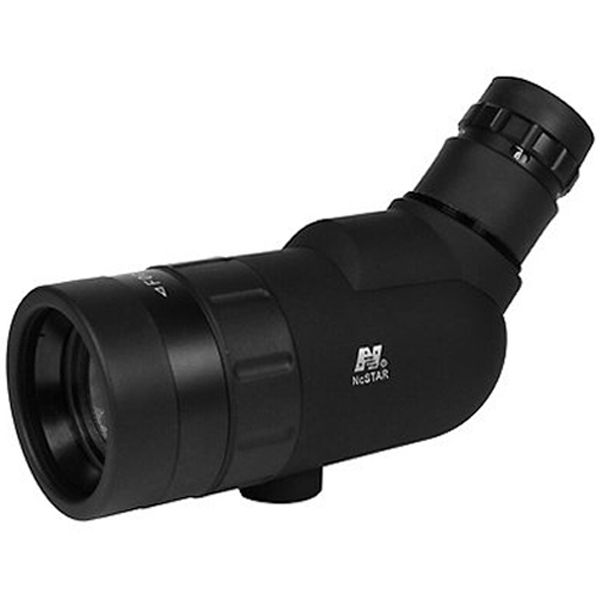 Ncstar High Resolution Black Compact Spotting Scope With Soft Carry Case