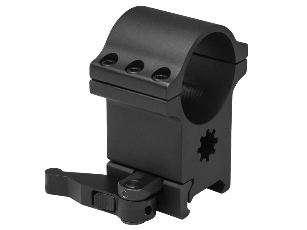NcStar 1.5 Inch 6 Bolt Ring w/ Quick Release Mount
