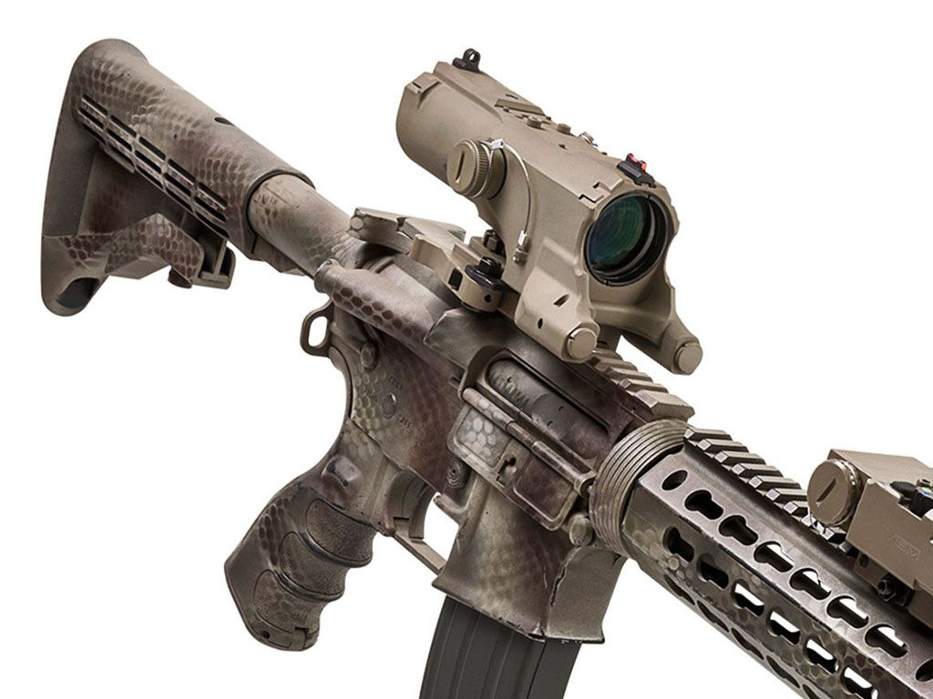 NcStar 4X34mm Urban Tactical MOD III QR Combo Scope