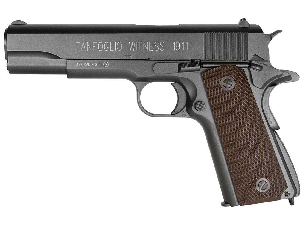 Cybergun Tanfoglio Witness 1911 CO2 Blowback Steel BB Pistol