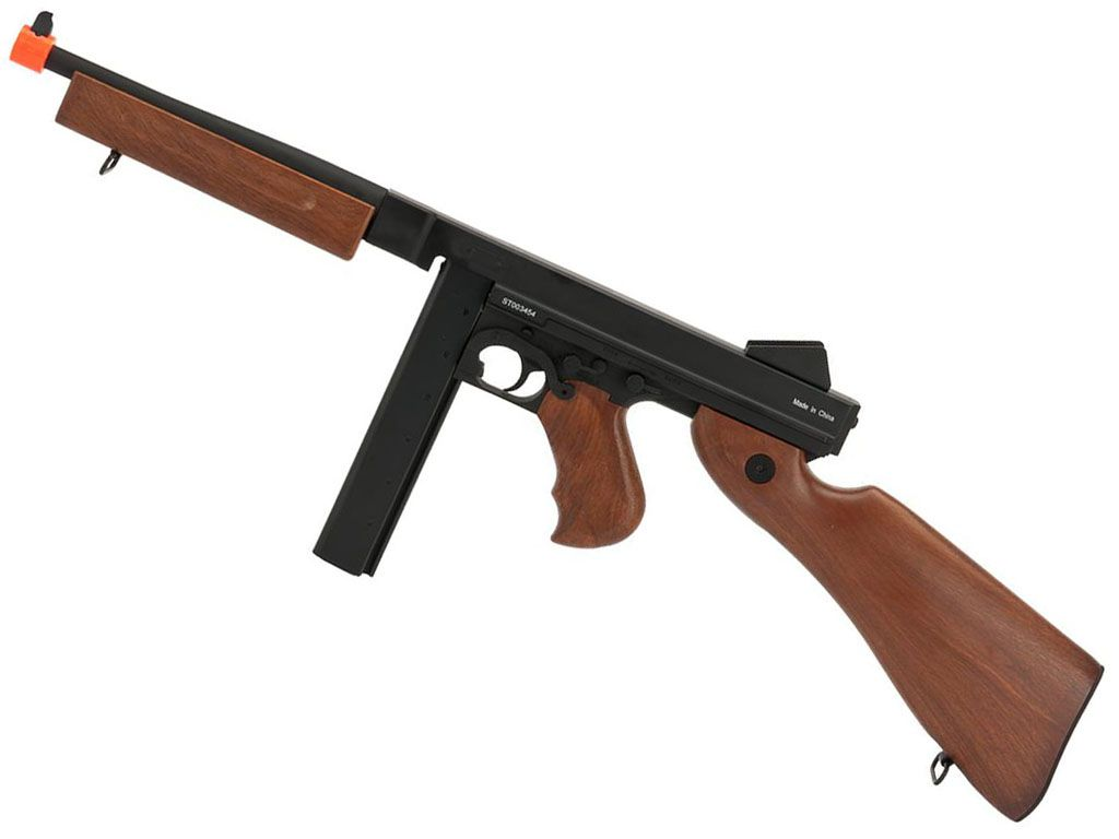 Cybergun M1A1 Thompson SMG AEG NBB Airsoft Rifle