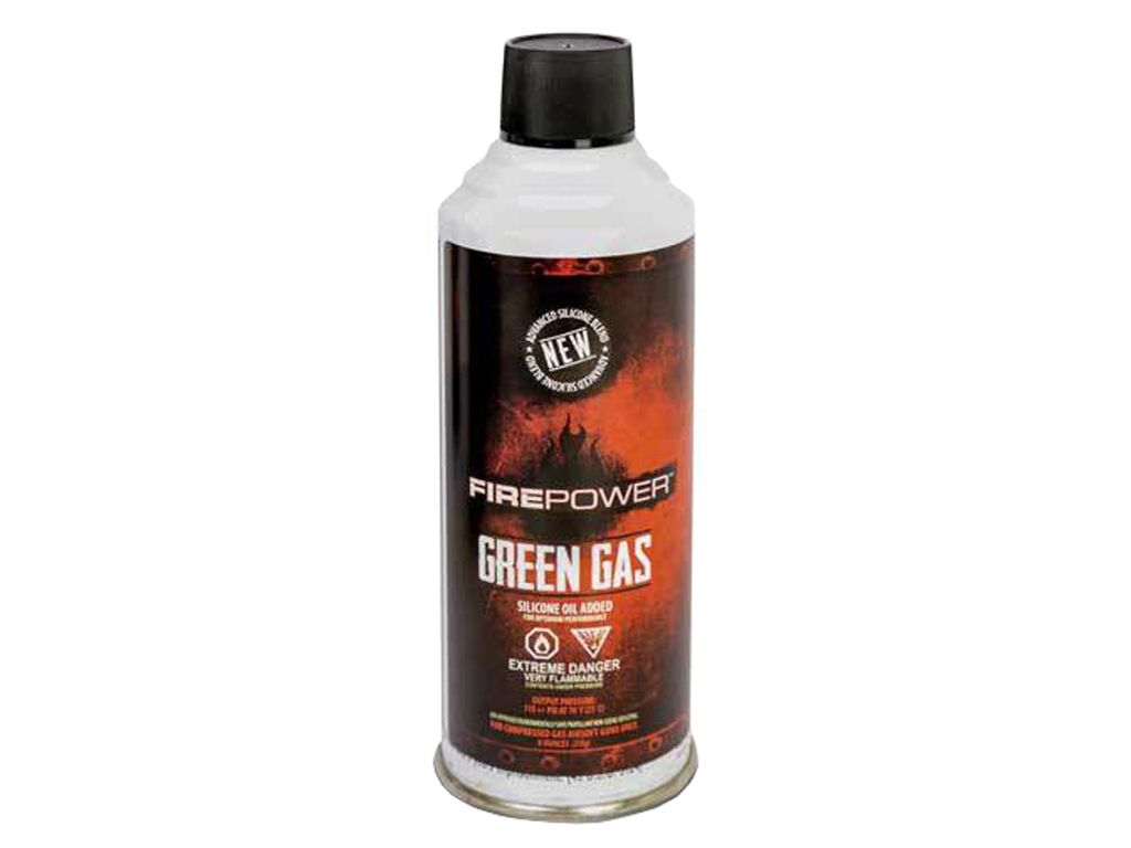 AMP Firepower Green Gas Can - 8 oz.