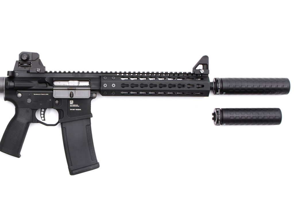 PTS Griffin Armament M4SD-K Airsoft Rifle Mock Suppressor