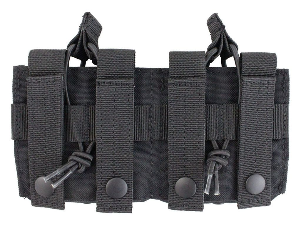 Raven X MOLLE Double Open Top M14 Magazine Pouch