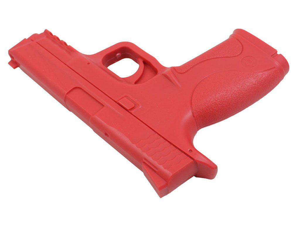 M&P Red Rubber Training Pistol