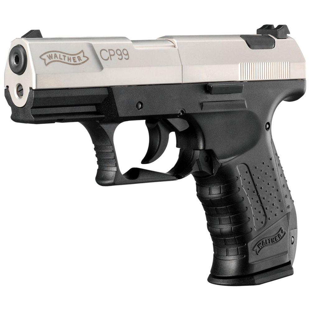 Walther CP99 Nickel Slide Air Pistol