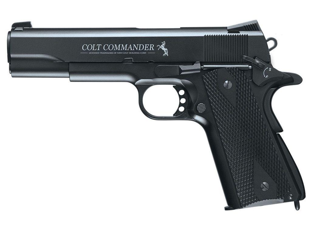 Umarex Colt Commander CO2 Blowback Steel BB Pistol