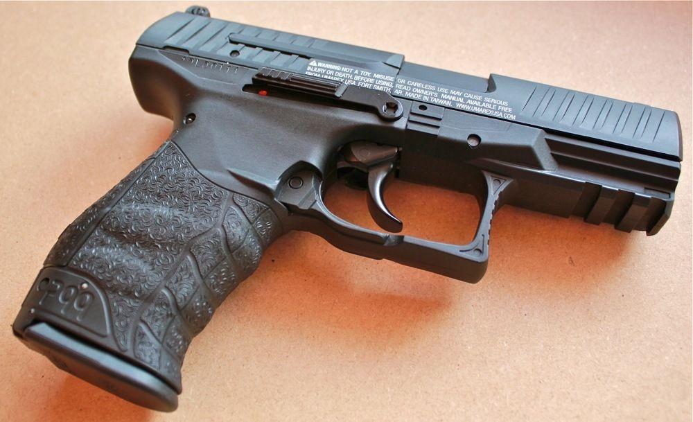 Umarex 2256010 walther ppq co2 pellet bb pistol replicaairguns ca